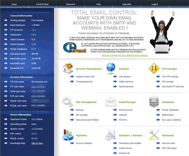 Free hosting server minecraft