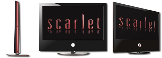 "LG - Scarlet 52"" 1080p 120Hz Flat-Panel LCD HDTV"