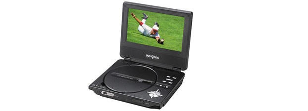 "Insignia 7"" Portable DVD Player"
