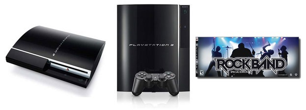 Playstation 3 & Rock Band Special Edition
