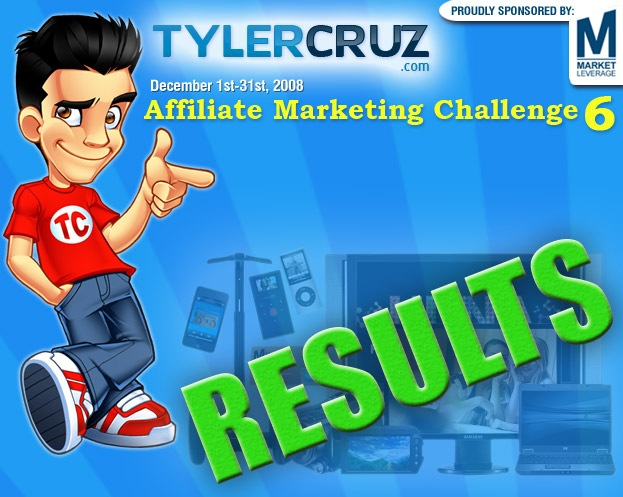 Affiliate Marketing Challenge 6 Results