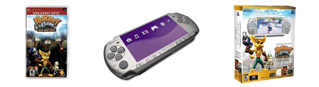PSP 3000 & Ratchet and Clank