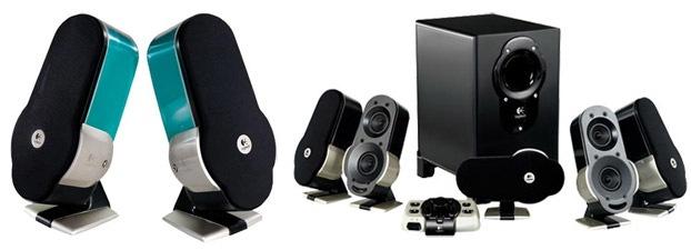 Logitech G51 Surround Sound Speakers