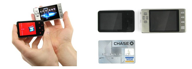 Credit Card Size Digital Video Player
