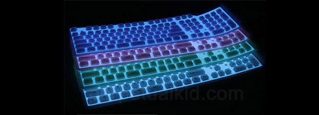 Flexible Illuminated Keyboard