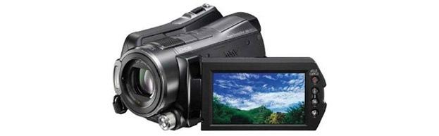 Sony 60GB Hybrid HD PAL Camcorder