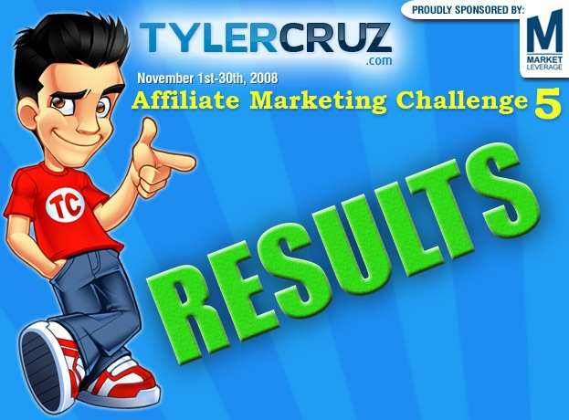 Affiliate Marketing Challenge 5 Results