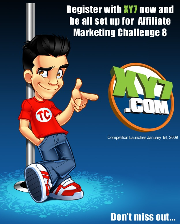 Affiliate Marketing Challenge 8 Prelaunch