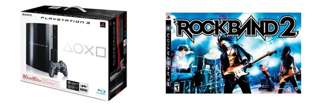 yStation 3 & Rock Band 2